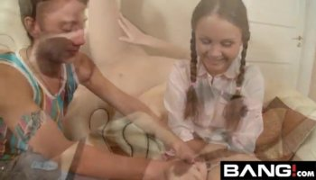 Group of very sensitive babes love to have bang